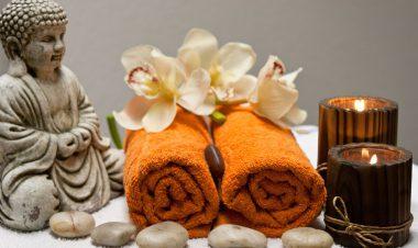 Utensilien für die Ayurveda Massage